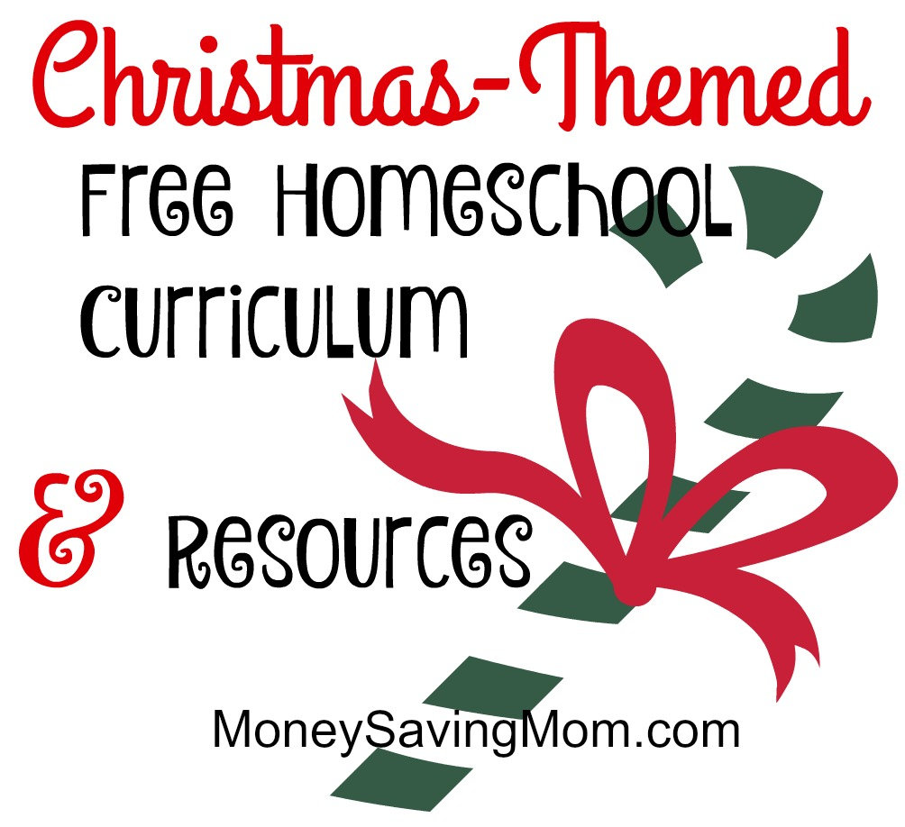 Christmas Themed Free Homeschool Curriculum and Resources