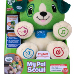 LeapFrog My Pal Scout only $12.59 (reg. $24.99) – 50% OFF!