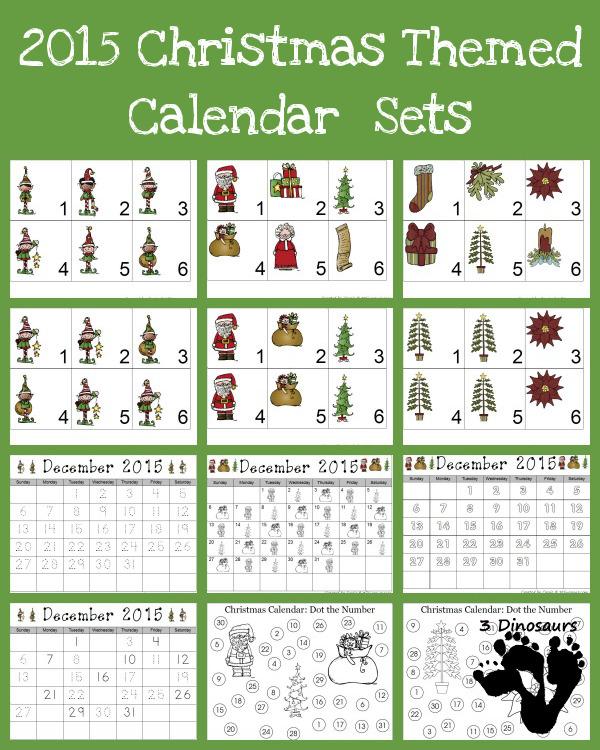 FREE Printable Calendar Set