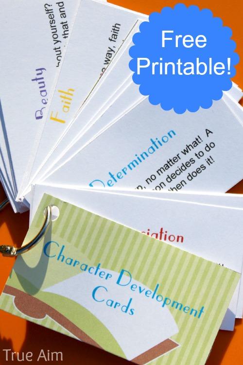 FREE Character printable