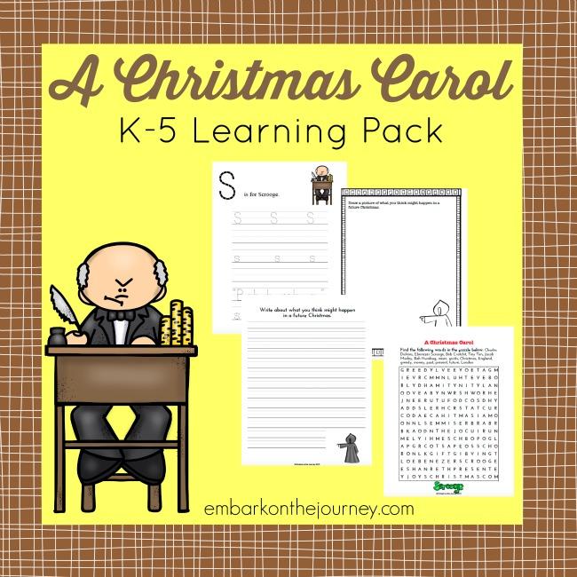 "FREE ""A Christmas Carol"" Pack"