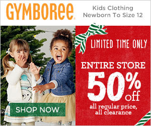 50% Off Everything at Gymboree - LAST DAY!