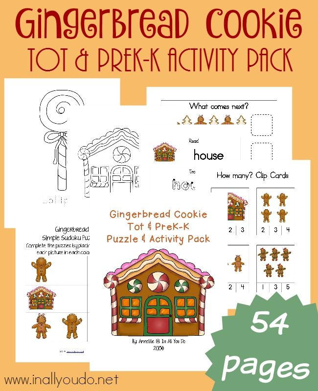 FREE Gingerbread Pack