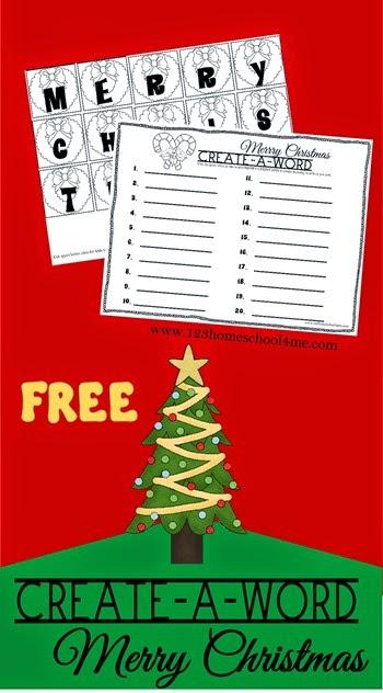 FREE Christmas Puzzle Printables