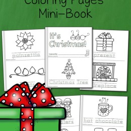 FREE Mini Coloring Pages