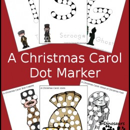 FREE A Christmas Carol Marker Pages