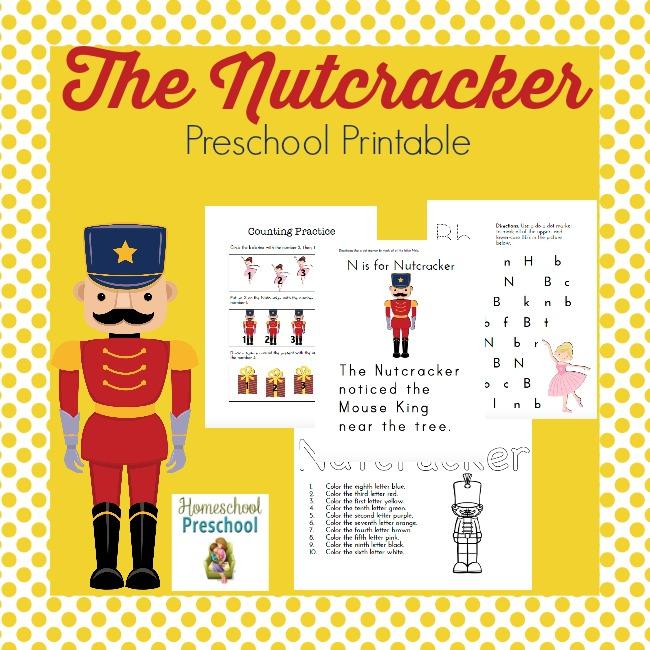 FREE Nutcracker Printables