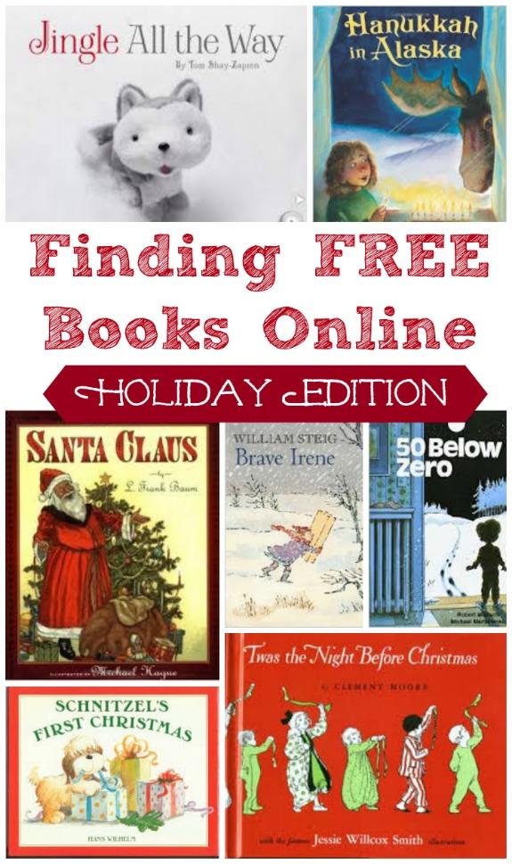 FREE Holiday Ebooks List