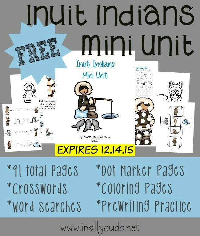 FREE Inuit Indians Pack