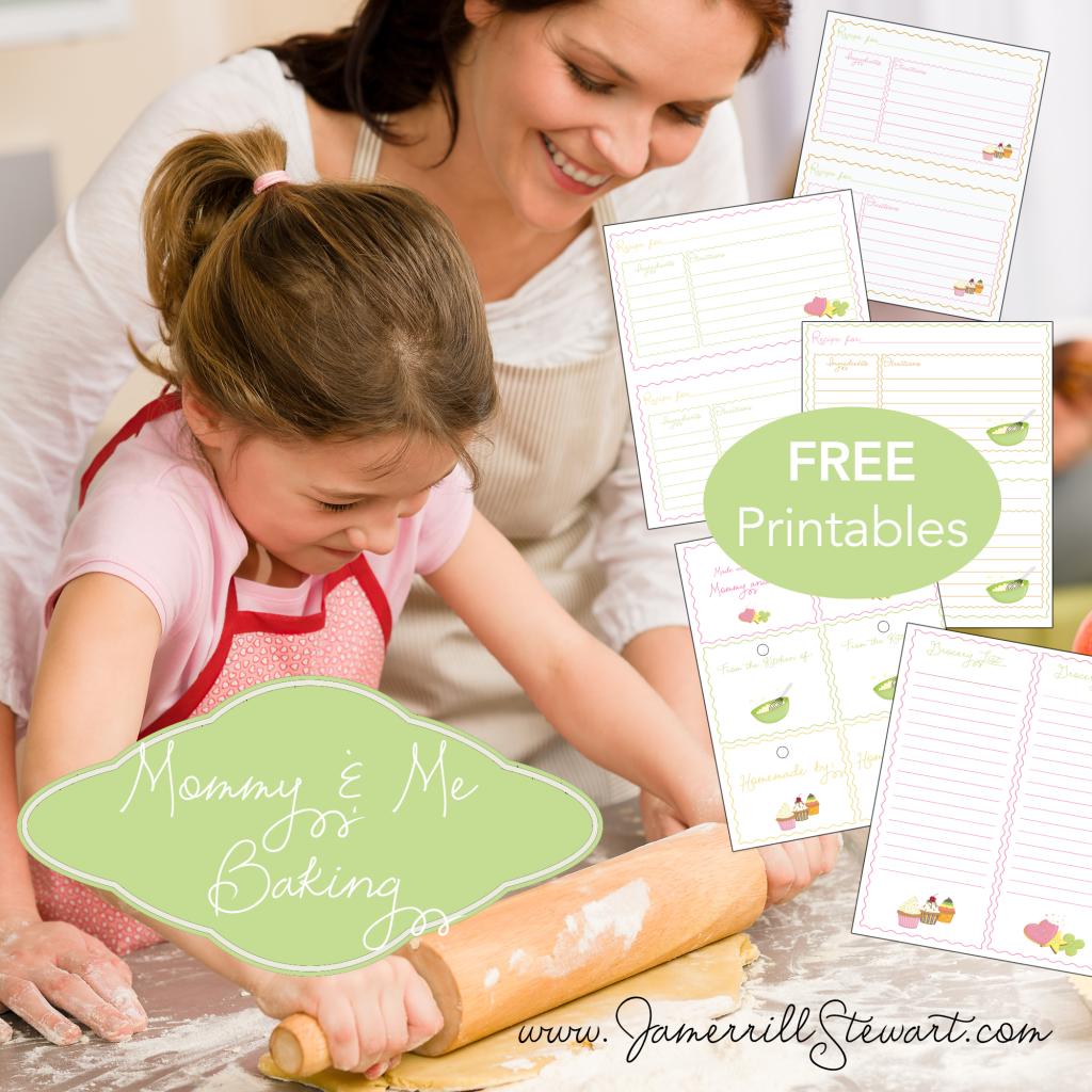 FREE Baking Printables