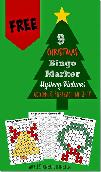 FREE Christmas Tree Pages