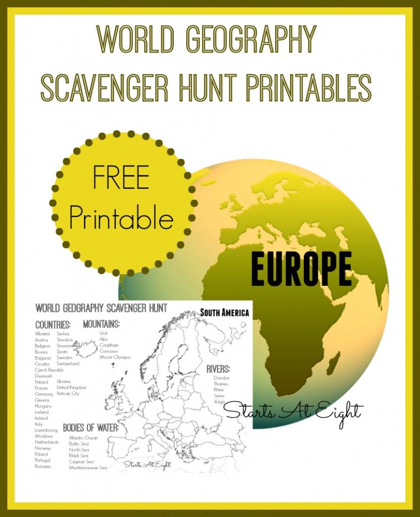 FREE Scavenger Hunt