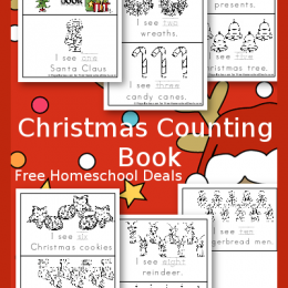 FREE CHRISTMAS COUNTING PACK (Instant Download)