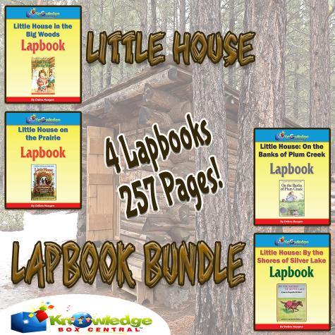 Little House on the Prairie Lapbook Bundle Only $4.49! (Reg. $20!)