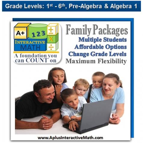A+ Interactive Math Program: 2 Students Only $90! (Reg. $250!)