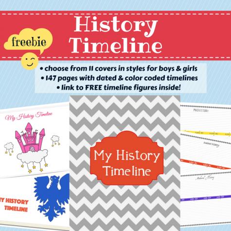 Free History Timeline Printables