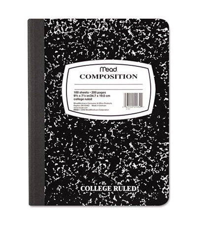 Mead Composition Notebook 12 Pack Only $10.99! (45% Off!)