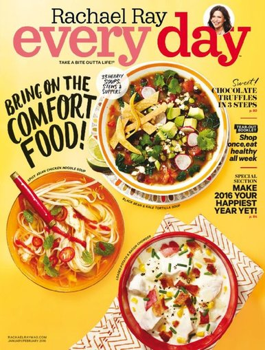 Rachael Ray Every Day Magazine Only $4.95/Year!