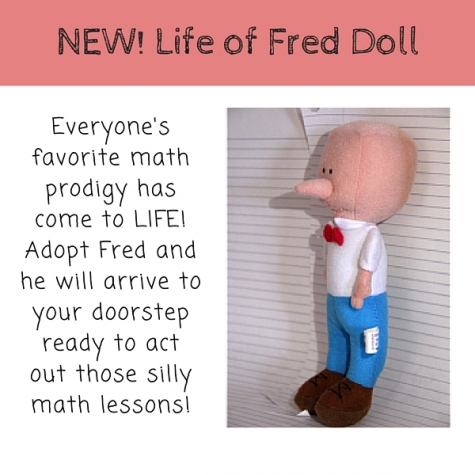 Life of Fred Doll Only $12.59! (Reg. $15!)