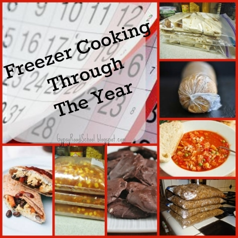Freezer Cooking Through the Year Ebook Only $4.50! (55% Off!)