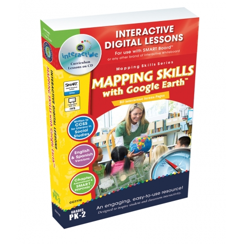 Mapping Skills with Google Earth Lessons Only $18! (Reg. $40!)