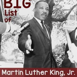 The BIG List of FREE Martin Luther King, Jr. Homeschool Resources