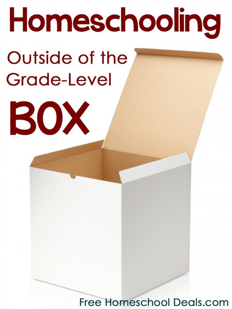 Homeschooling Outside of the Grade Level Box