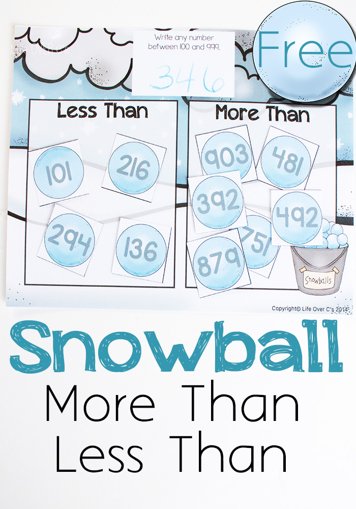 FREE Snowball Math