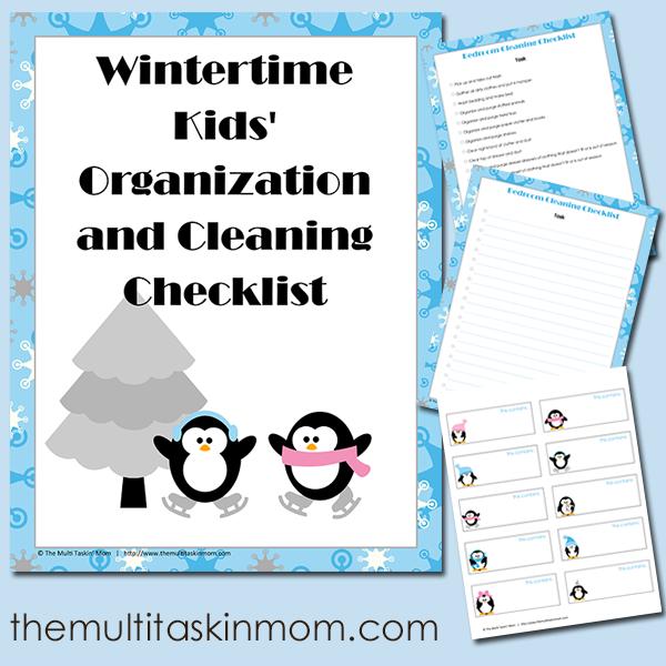 FREE Organization Checklist
