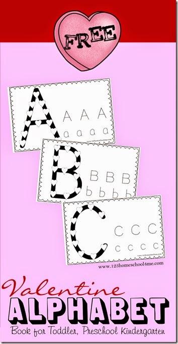 FREE Valentines ABC's