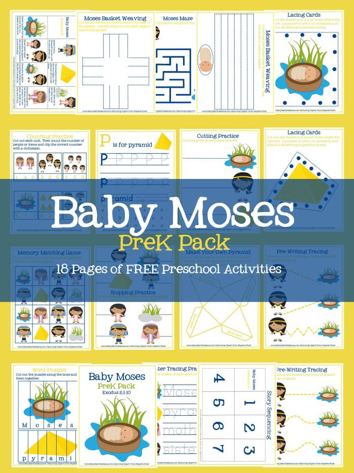 FREE Baby Moses Pack