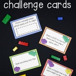 FREE Lego Challenge activity