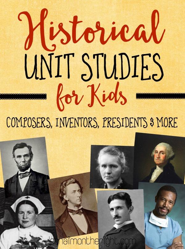 FREE History Unit Studies for Kids