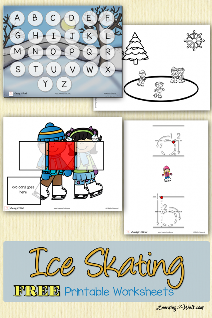 FREE Ice Skating Printables