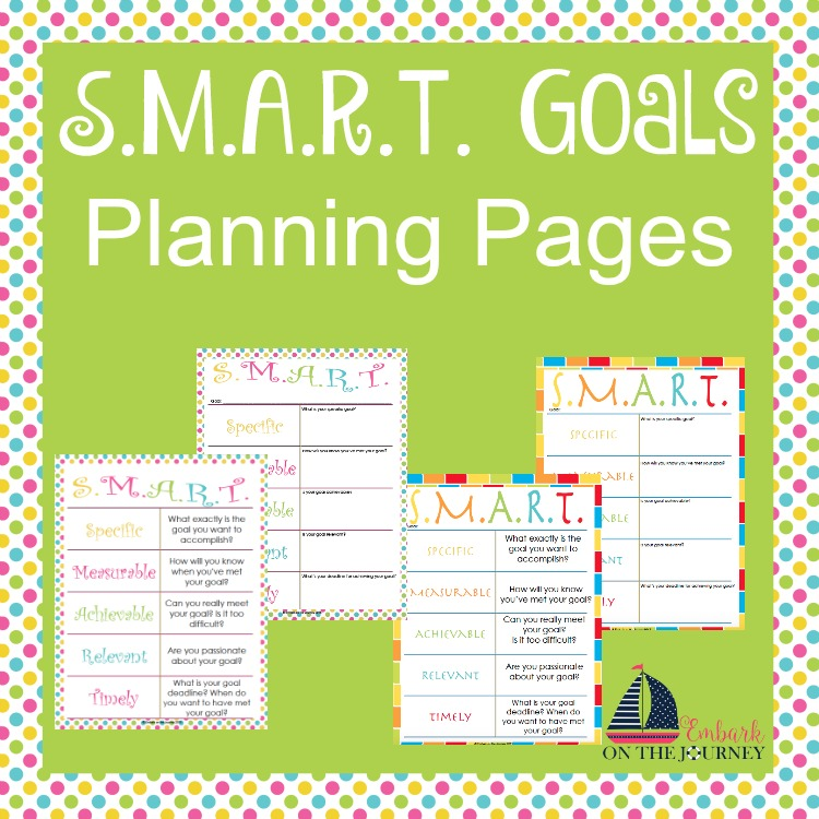 FREE Goal Planning Pages