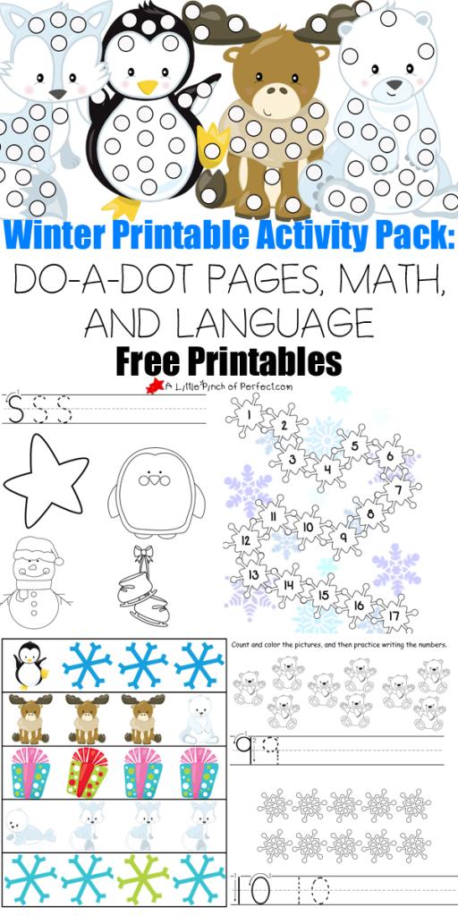 FREE Winter Printables Pack