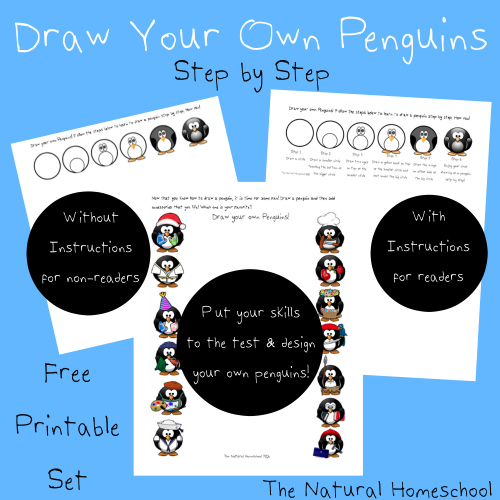 FREE Penguin pages