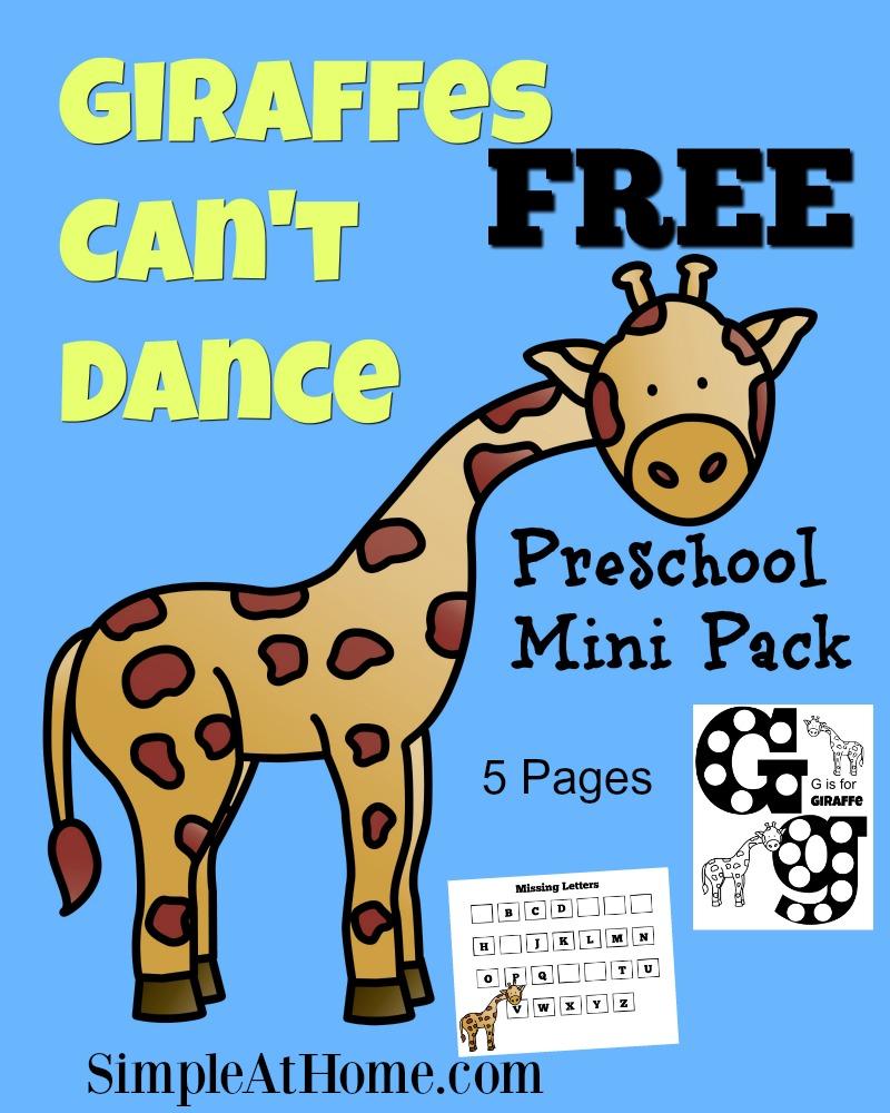 FREE Preschool Mini pack