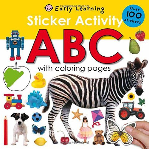 Alphabet Sticker Activity Book Only $2.46! (Reg. $5!)