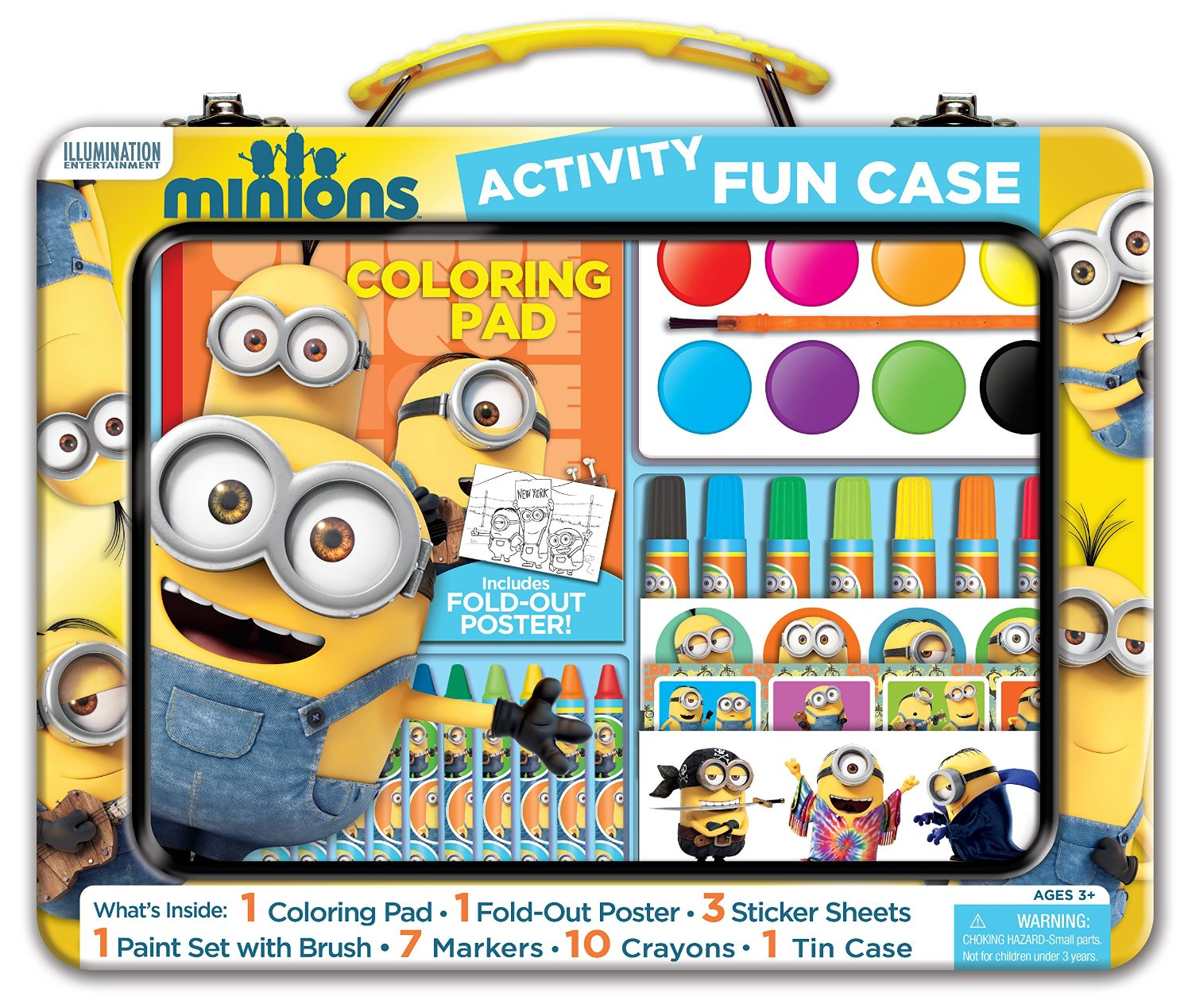 Minions Art and Activity Tin Only $8.49! (50% Off!)