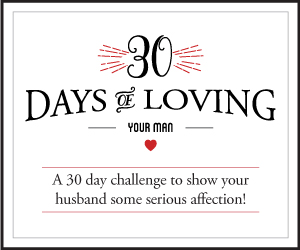 30 Days of Loving Your Man Challenge Only $5.99!