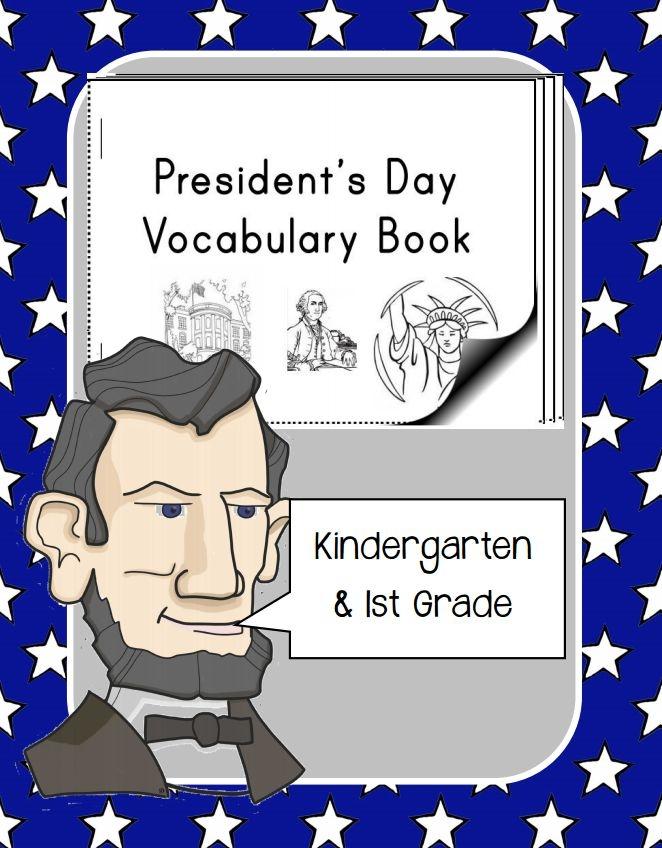 Free President's Day Vocabulary Mini-Book