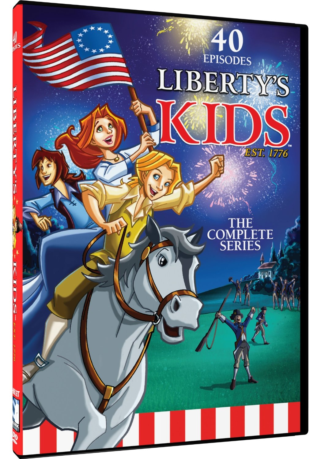 Liberty Kids Complete Series DVD Set Only $7.50! (42% Off!)