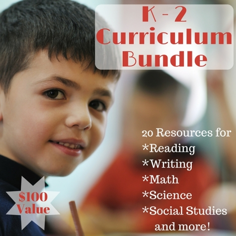 K-2 Curriculum Bundle Only $19.99 ($100 Value!)