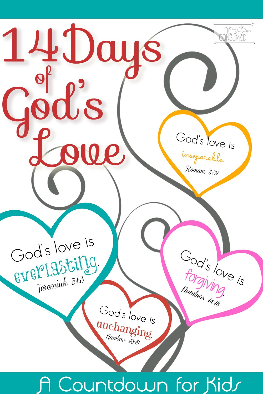 Free Valentine's Scripture Countdown