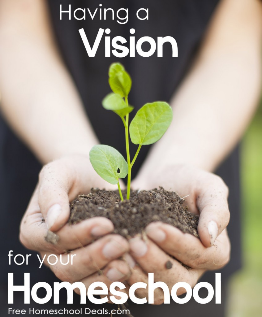 Having a Vision for Your Homeschool