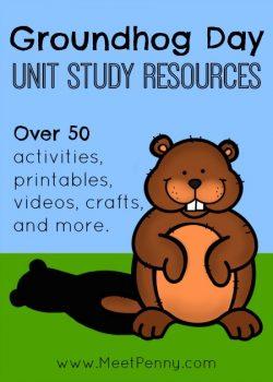 Free Groundhog Day Unit Study Resources