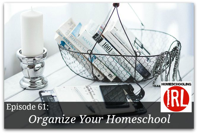 Organize your homeschool podcast