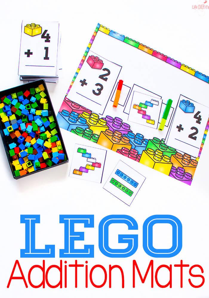FREE Lego Addition Mat
