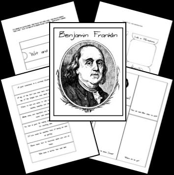 FREE Ben Franklin Lapbook
